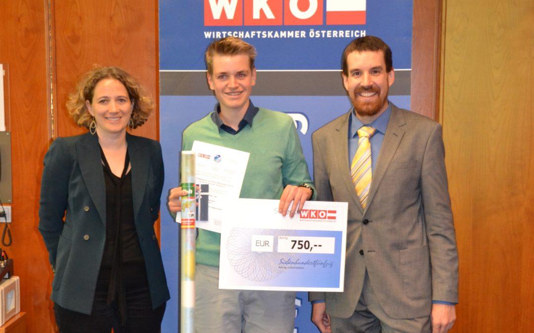 3. Platz beim Geonomic Award der Wirtschaftskammer Wien