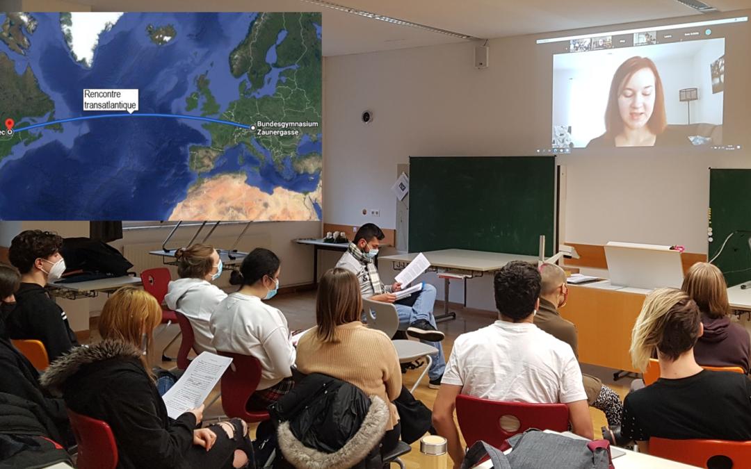 Salzburg trifft Québec – Online Lesung mit der frankokanadischen Autorin Emilie Turgeon